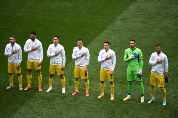 Футболисты сборной Украины. Фото сайт УЕФА