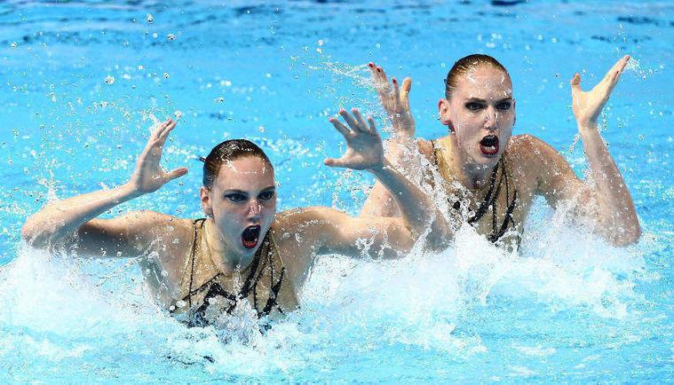 Светлана Ромашина и Светлана Колесниченко. Фото Reuters