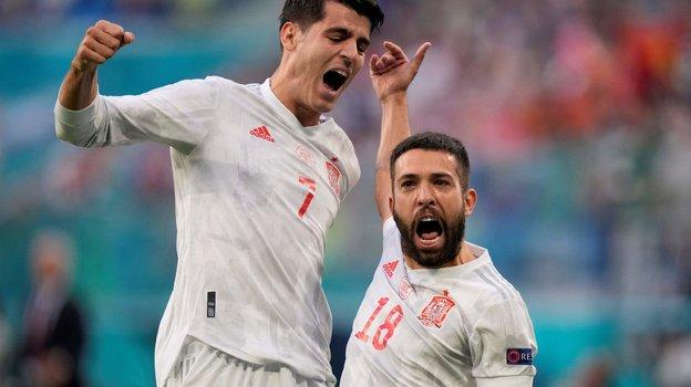 Сборная Испании обыграла сборную Швейцарии. Фото AFP