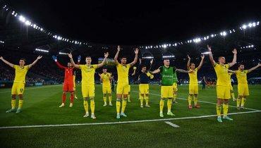 «Нам еще рано замахиваться натакие горы». Что сказали Шевченко иего игроки после вылета Украины сЕвро-2020