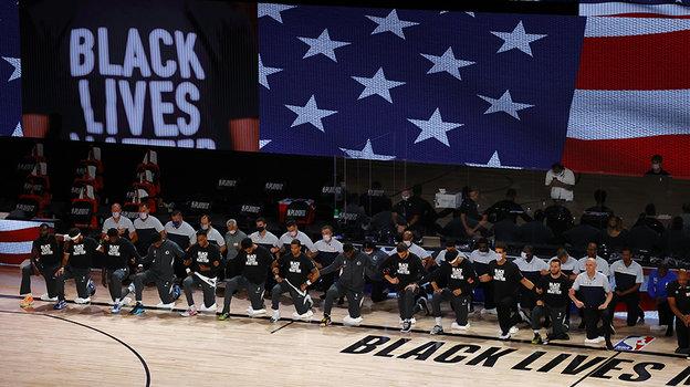 Американские баскетболисты наверняка устроят важную для них акцию. Фото Getty Images