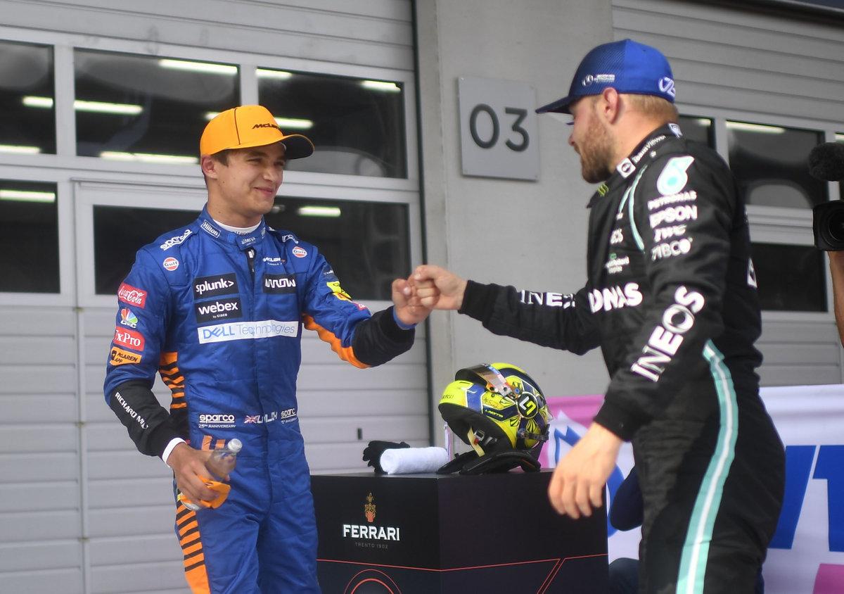 Норрис— гроза «Мерседеса» на «Гран-при Австрии». Ферстаппен уже в32 очках отХэмилтона
