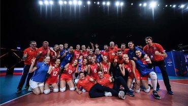Женская сборная России поволейболу огласила окончательную заявку наОлимпиаду вТокио
