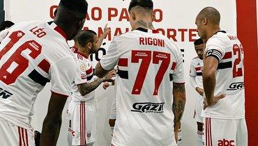 Дебютный гол Ригони неспас «Сан-Паулу» отпоражения вматче с «Брагантино»