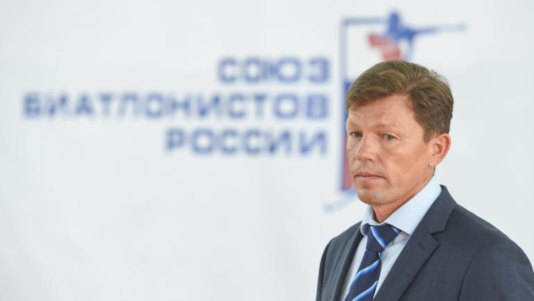 Виктор Майгуров. Фото СБР, biathlonrus.com.