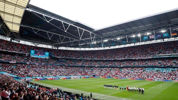 Стадион «Уэмбли» примет полуфиналы ифинал Евро-2020. Фото AFP