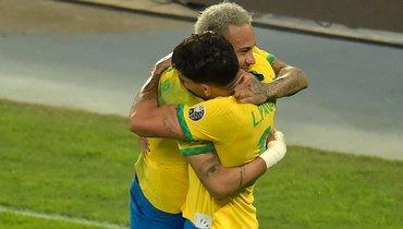 Неймар отдает— Пакета забивает. Бразилия вфинале иждет ответа Месси