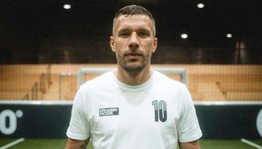 36-летний Лукас Подольски продолжит карьеру вПольше