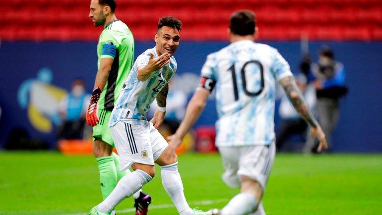 Барриос дотащил Колумбию досерии пенальти,  нонеотменил финал мечты— Месси против Неймара