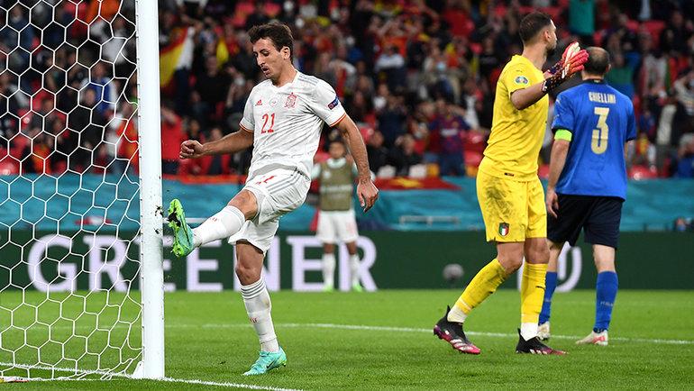 Испания неразрушила проклятие второй серии пенальти наЕвро