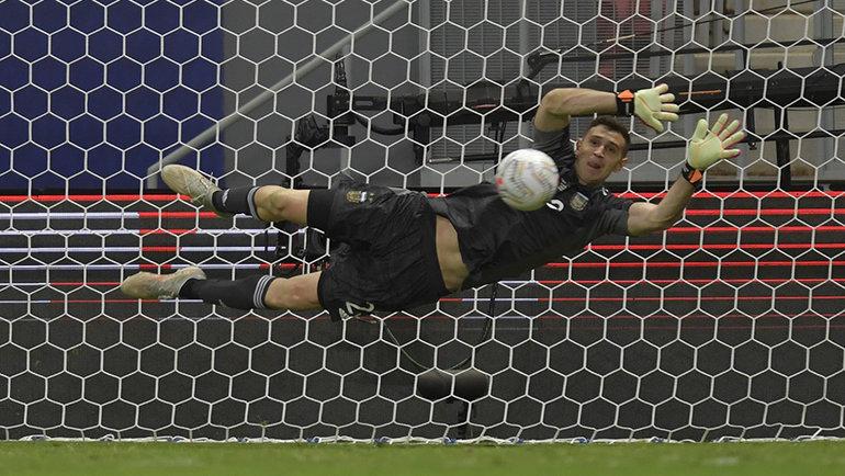 Эмилиано Мартинес. Фото Getty Images