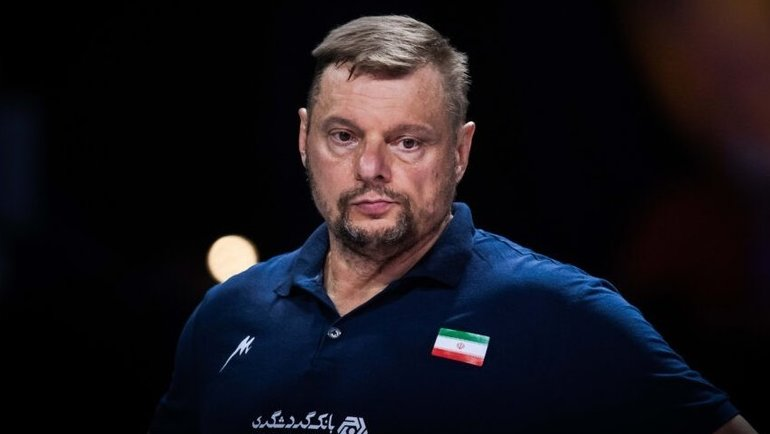 Владимир Алекно. Фото iranvolleyball.com