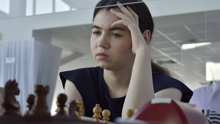 Александра Горячкина стала первой вистории шахматисткой, отобравшейся вСуперфинал чемпионата России среди мужчин. Фото Анастасия Домченкова