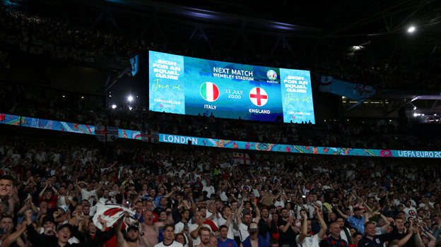 Финал Италия— Англия пройдет вЛондоне на «Уэмбли». Фото Getty Images