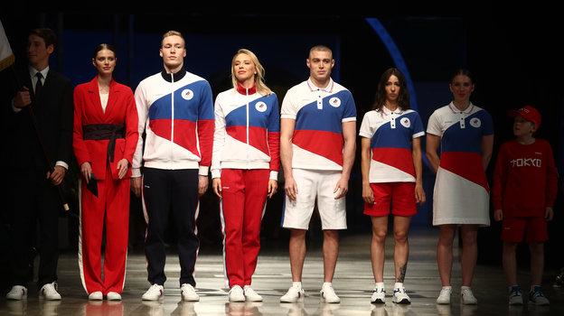 Презентация формы сборной России на Олимпийских играх в Токио. Фото Дарья Исаева, «СЭ» / Canon EOS-1D X Mark II