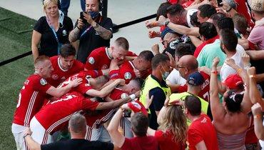 Сборная Венгрии наказана проведением трех домашних матчей при пустых трибунах из-за поведения болельщиков наЕвро