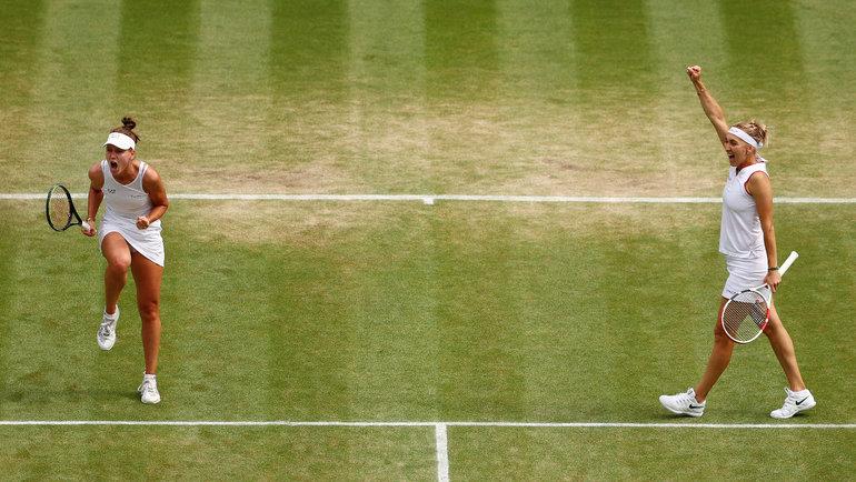 Веснина иКудерметова совершили чудо вполуфинале. Елена вчетвертый раз сыграет вглавном парном матче Уимблдона