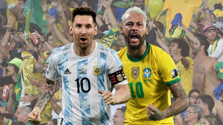 Новый скандал наКубке Америки. Вфинале многие бразильцы будут болеть заМесси, Неймар уже возмутился