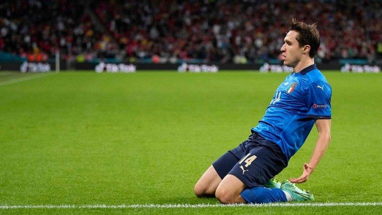 Кьеза начал Евро наскамейке, ностал героем сборной Италии. Финал— его шанс превзойти отца