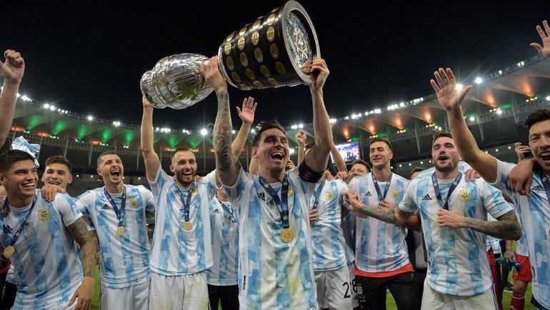 Мечты сбываются! Месси иАргентина выиграли Кубок Америки