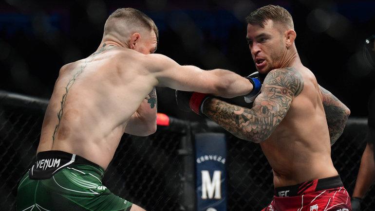 Конор Макгрегор проиграл Дастину Порье натурнире UFC 264. Фото USA Today Sports