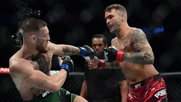 Дастин Порье против Конора Макгрегора вглавном бою UFC 264 вЛас-Вегасе 11июля.