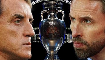 «Англия— фаворит финала Евро, ноМанчини должен войти висторию». Итальянский журналист— обожиданиях встране перед решающим матчем