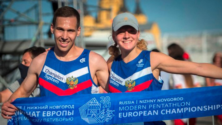 Золотая точка иолимпийские надежды. Пятиборцы завершилиЧЕ вНижнем Новгороде