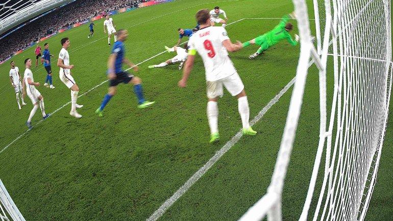 Леандро Бонуччи сравнял счет на67-й минуте финала. Фото AFP