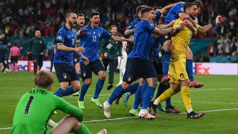 Онедет вРим! Италия— чемпион Европы после суперразвязки финала сАнглией!
