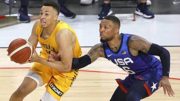 Сборная США побаскетболу потерпела второе поражение врамках подготовки кОлимпиаде. Фото Getty Images
