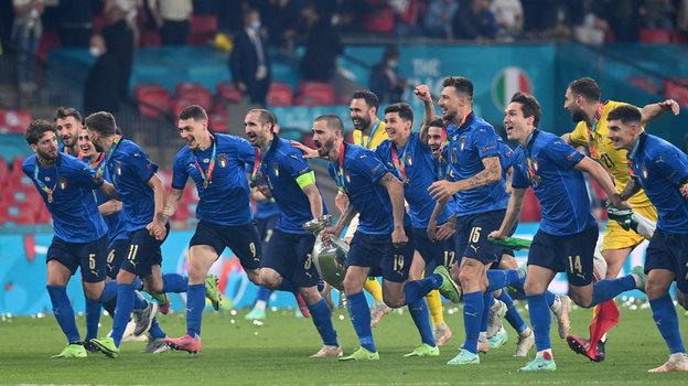 Футболисты сборной Италии. Фото AFP