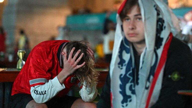 Болельщики сборной Англии. Фото AFP