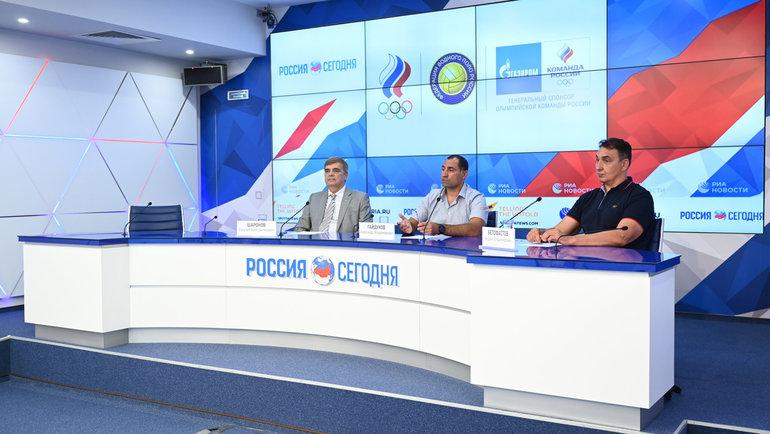 Евгений Шаронов, Александр Гайдуков иАндрей Белофастов. Фото ОКР