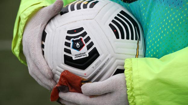 Мяч РПЛ. Фото Федор Успенский, «СЭ» / Canon EOS-1D X Mark II