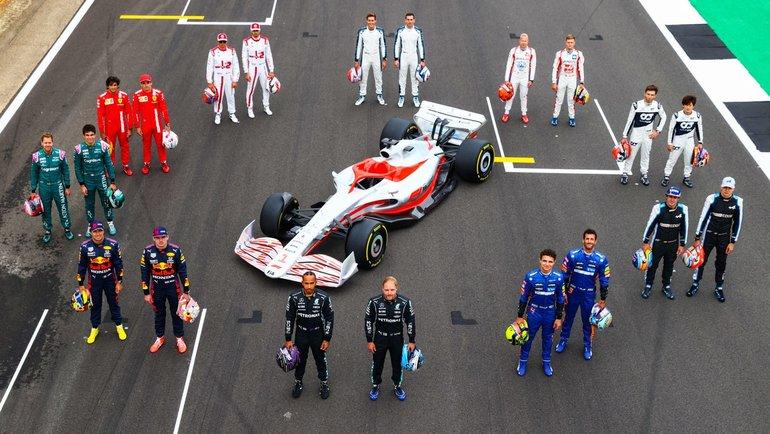 «Формула-1» представила новый болид 2022 года. Фото «Формула-1»