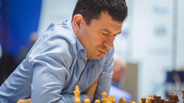 Гроссмейстер Евгений Алексеев. Фото Анастасия Королькова/FIDE