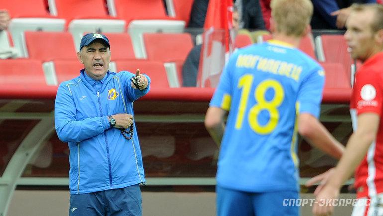 Пять лет назад Бердыев выбирал между сборной России и «Спартаком». Новернулся в «Ростов»