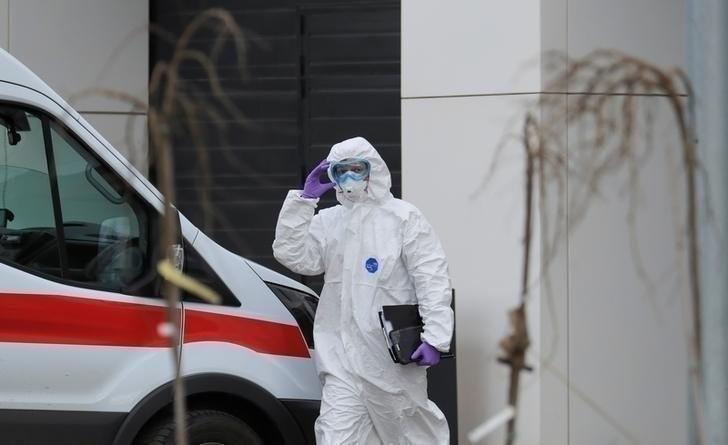 Коронавирус вРоссии. Фото Reuters