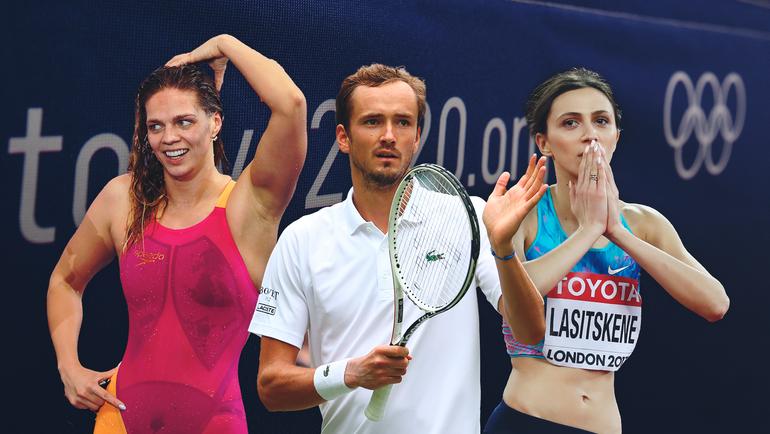 10 главных звезд России наОлимпийских играх вТокио. Кто они?