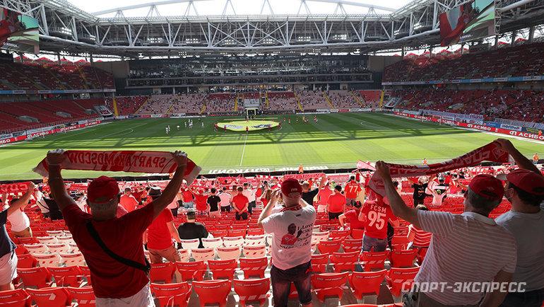 Лето для российского футбола предпочтительнее? Фото Александр Федоров, «СЭ» / Canon EOS-1D X Mark II
