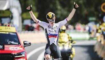 Словенец Мохорич выиграл 19-й этап «Тур деФранс»