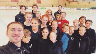 Группа Тутберидзе завершила тренировочный сбор набазе вНовогорске