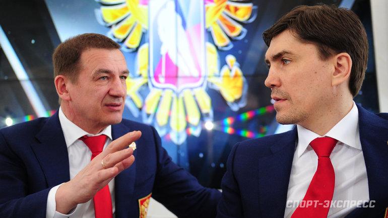 Игорь Никитин (справа) и Валерий Брагин. Фото Федор Успенский, «СЭ»