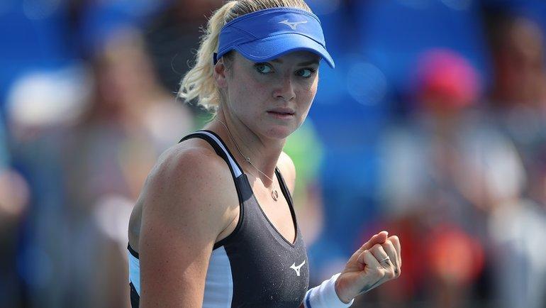 Тереза Мартинцова. Фото WTA