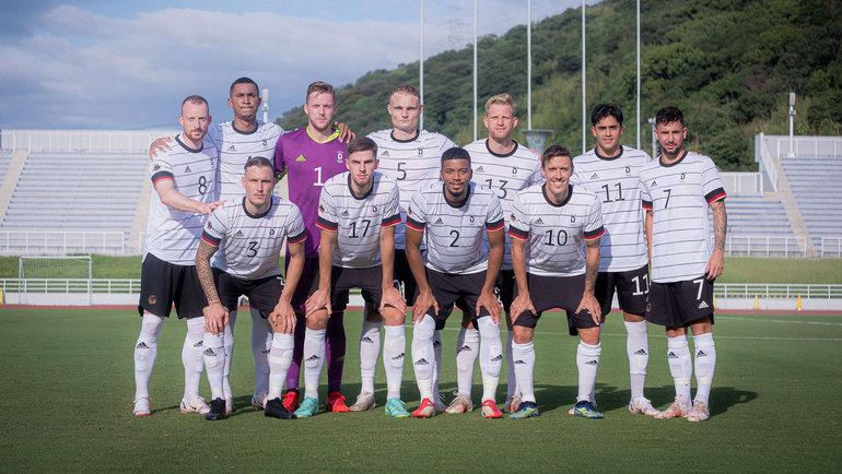Олимпийская сборная Германии пофутболу. Фото dfb.de