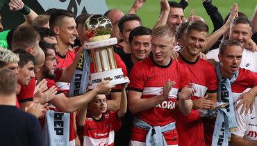 Руй Витория выиграл первый трофей со «Спартаком»