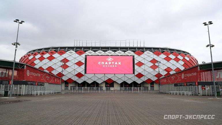 Стадион «Открытие Банк Арена». Фото Федор Успенский, «СЭ» / Canon EOS-1D X Mark II