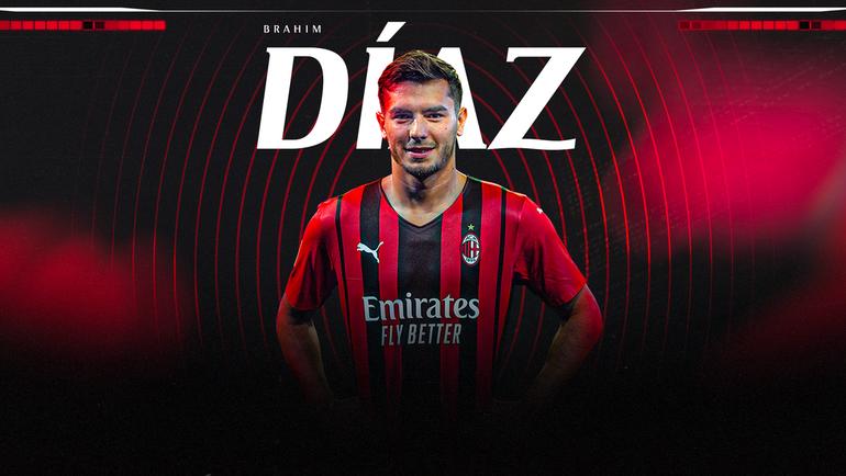 Браим Диас. Фото ФК «Милан»
