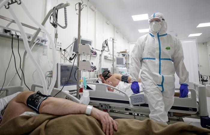 Коронавирус вРоссии. Фото Сергей Бобылев, ТАСС